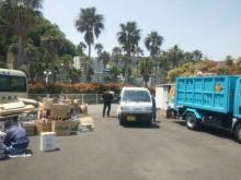 使用済み割り箸回収及び紙資源ゴミ回収活動