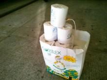 紙資源ゴミ回収活動
