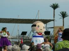 アタミアロハフェスティバル2013 「あつお」フラダンスを踊る!